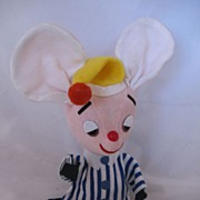 "REDUCED Vintage Circa 1960's  ""Dream Pets"" Sleepy Mouse CUTE!"