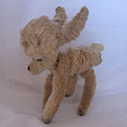 REDUCED Vintage Chenille Baby Deer Perfect For Display