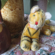 REDUCED Vintage Mohair Tiger TOO SWEET!