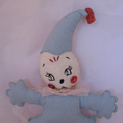 REDUCED Vintage Circa 1950's  Felt Crib Toy
