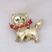 REDUCED Vintage Puppy Pin CUTE!