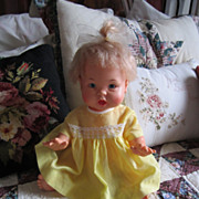 Vintage 1973 Ideal Vinyl Doll TOO CUTE!