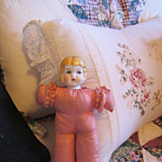 Antique China Head Pin Cushion Doll
