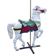Carousel Horse:  Philadelphia Toboggan Company
