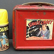 Tom Corbett Space Cadet 1952 Metal Lunchbox & Thermos
