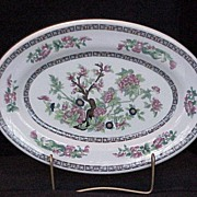 Shenango Indian Tree Restaurant Ware Platter