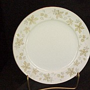 "Noritake Rose China ""Brierly"" Pattern Salad Plate"