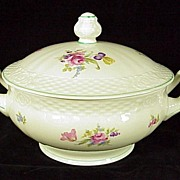 Winterling Dresden Floral (Bavaria) Covered Vegetable Bowl