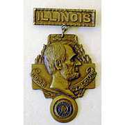 1935 American Legion Metal Pin Or Badge