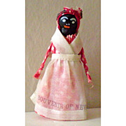 Small Black Mammy Doll Souvenir Of New Orleans