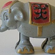 Vintage Toy Ramp Walker Circus Elephant