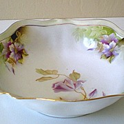 SALE Gorgeous Early 1900's Serving Bowl RS Germany Mark