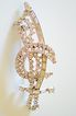 LARGE Gorgeous Vintage Rhinestone Brooch