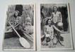 (2) 1940's Real Photo Hawaiian Hula Girl Postcards