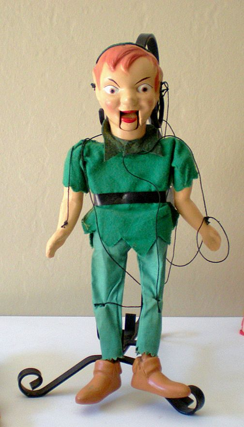 Vintage Peter Pan Disney Marionette Puppet From