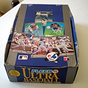 Full Box of 1991 Fleer Ultra Baseball Cards Sealed Foil Packs