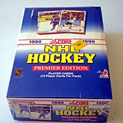 Factory Sealed Box Premier Edition 1990 Score Hockey Cards