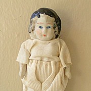 Vintage 1920's Bisque Doll