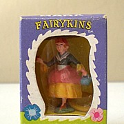 "1960's Marx Fairykins Figure ""Miss Mary"" In Original Box"