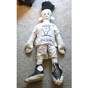 GIANT 1980's Fido Dido Rag  Doll Retailers Display