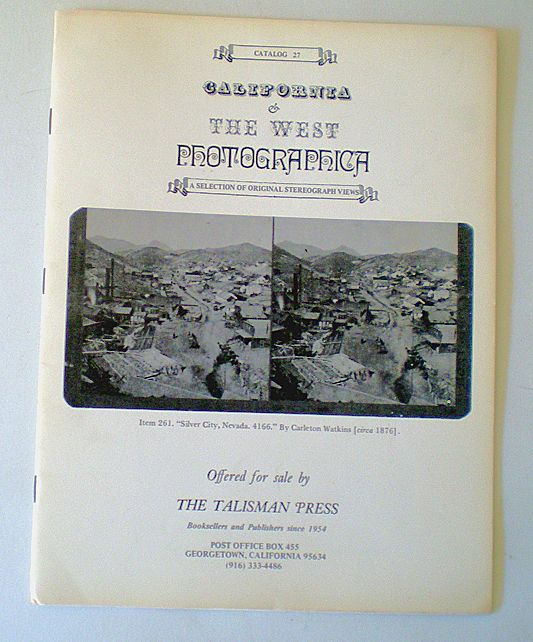 1983 Photographica Catalog Stereograph Views