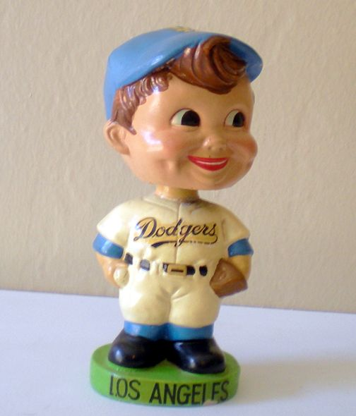 1962  LA Dodgers Bobblehead Head Bobber