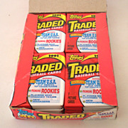 1991 Topps Traded Baseball Wax Box