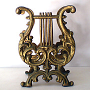 Victorian Cast Iron Music Stand