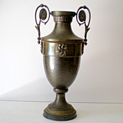 SALE LARGE Gorgeous Antique Bronze Urn