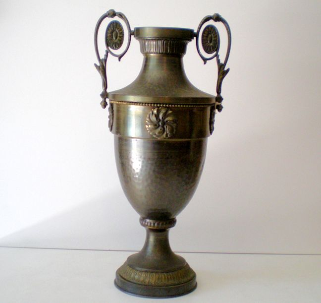 LARGE Gorgeous Antique Bronze Urn