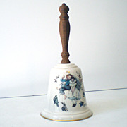 Norman Rockwell &quot;Love's Harmony&quot; Porcelain Bell Dated 1975
