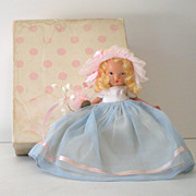 1940s Bisque  Storybook Doll Bridesmaid #87 Family Series w/ Box