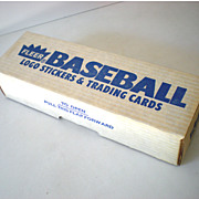 Complete Set 1987 Fleer Baseball Cards Bonds Rookie!