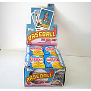 1989 Topps Baseball Wax Box 36 Unopened Packs