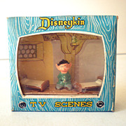 Marx Disneykin TV Scene Dwarf Dopey