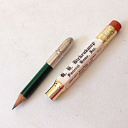 1950s Funeral Home Advertising Bullet Pencil MINT