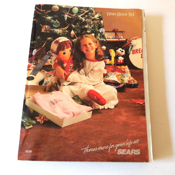 1984 Toys For Girls : Sears wish book christmas catalog from