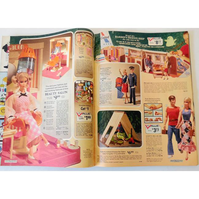 Vintage Sears Wish Book Christmas Catalog 1976 Toys Barbie