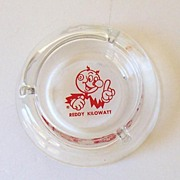 Vintage Reddy Kilowatt Advertising Ashtray