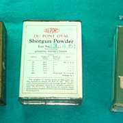 SALE 3 Vintage Shot Gun Powder Advertising Sports Tins