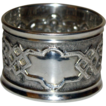 1895 Sterling Repousse Napkin Ring