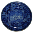 c. 1820 Historical Blue Enoch Wood St. Philips Chapel Transferware  Plate