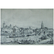 SALE Wolfgang Tritt (1913-1983) Listed Artist Superb Etching