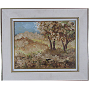 SALE Pierre Cossette Lovely Landscape Oil Painting by Canadian Artist