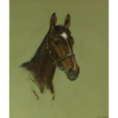Alice Des Clayes (1891-1971) Canadian Artist Horse Pastel