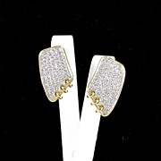 SALE Dazzling Vintage Rhinestone Earrings
