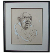 SALE Bruce Tinsley Drawing by Famous Cartoonist