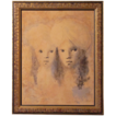 Leonor Fini (1908-1996) Coloured Lithograph S/N Limited Edition
