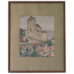 Maurice Felix ( 1895-1972) Listed Artist Gorgeous Watercolor