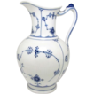 Rare Pre-1922 Royal Copenhagen Blue Fluted Pitcher